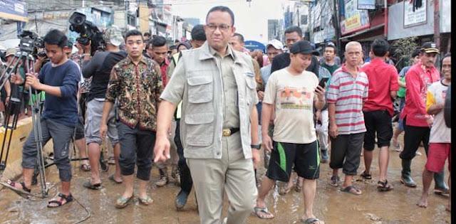 Banjir Politik Dan Politik Banjir Ibukota