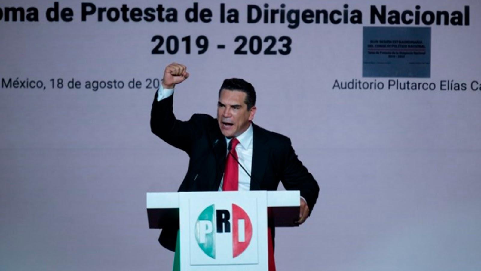 """""""Estamos de regreso por la grandeza de México"""", presume el PRI"""