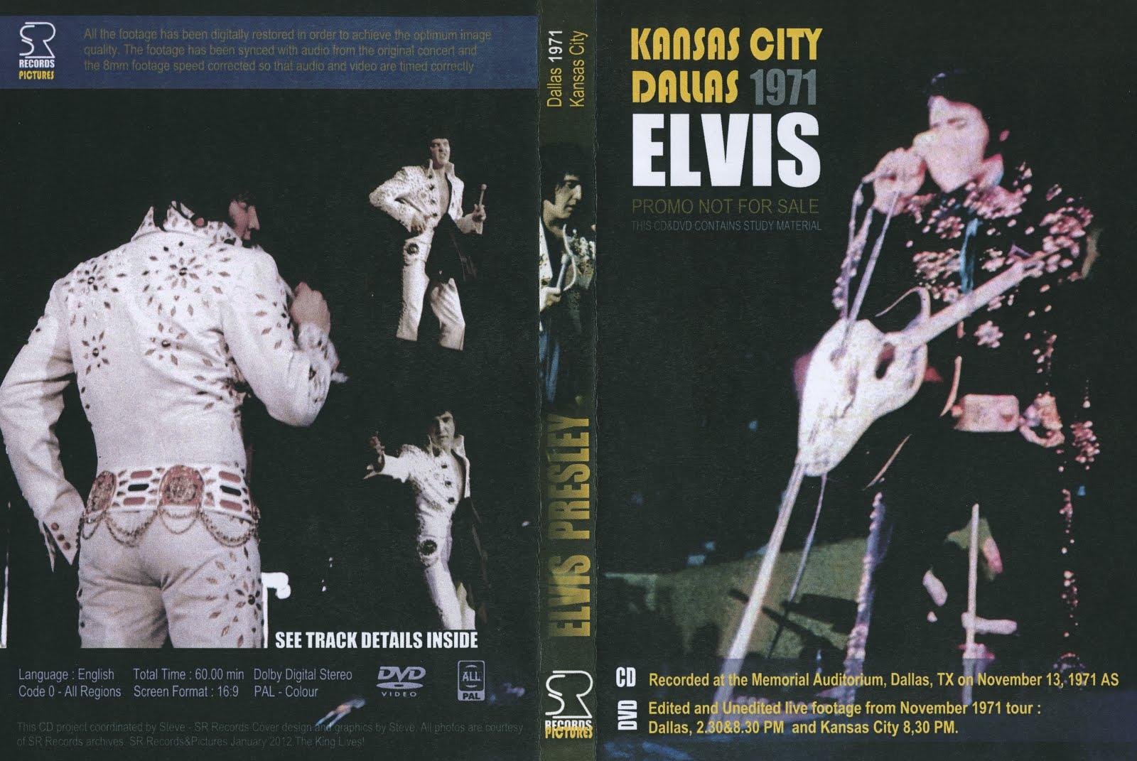 For Elvis CD Collectors • Houston Nov  12, 1971 - Professionally