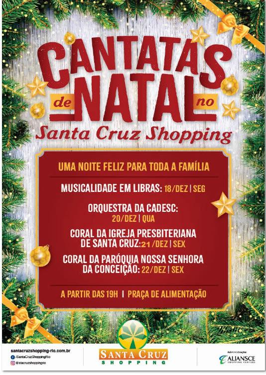 Cantatas de Natal no Santa Cruz Shopping; veja os dias e horários