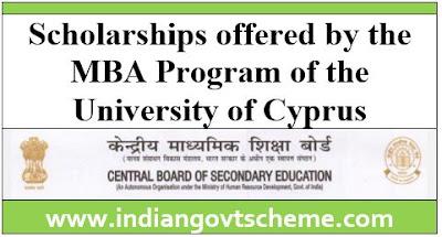 MBA Program of the University of Cyprus