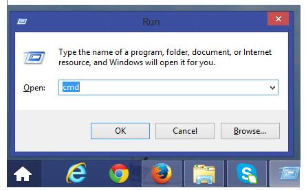 IPaddress Shortcut Command for Windows 7