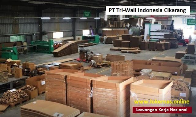 Lowongan Kerja PT Tri-Wall Indonesia Cikarang Bagian Operator Produksi (Lulusan SMA/SMK/Setara)