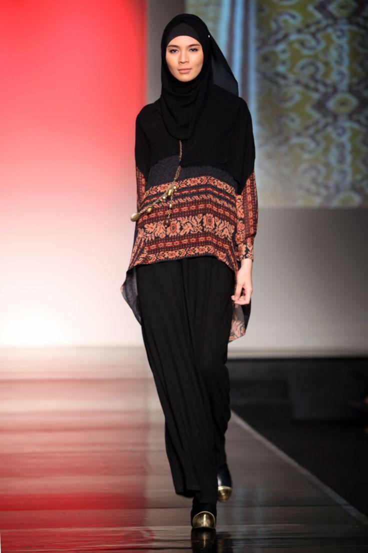 30 Model Baju Batik Muslim Terbaru 2018