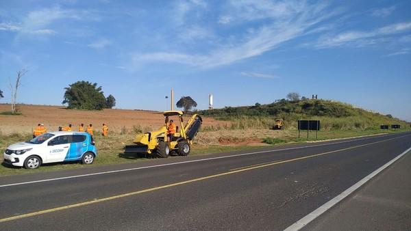 Obras em trechos da Rodovia Assis Chateaubriand interferem no tráfego de veículos até domingo