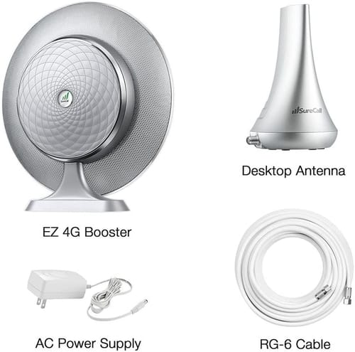 SureCall EZ 4G Plug-and-Play Cell Phone Signal Booster