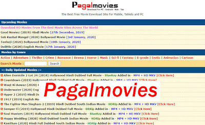 Pagalmovies- 2020 Bollywood HD Movies Download Pagalmovies site