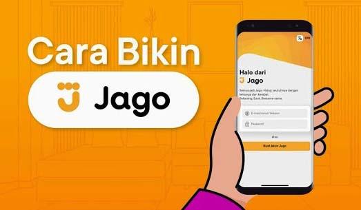 cara daftar akun bank jago