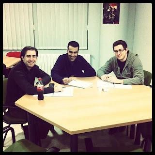 Alumnos del Master de Videojuegos UPM en Madrid