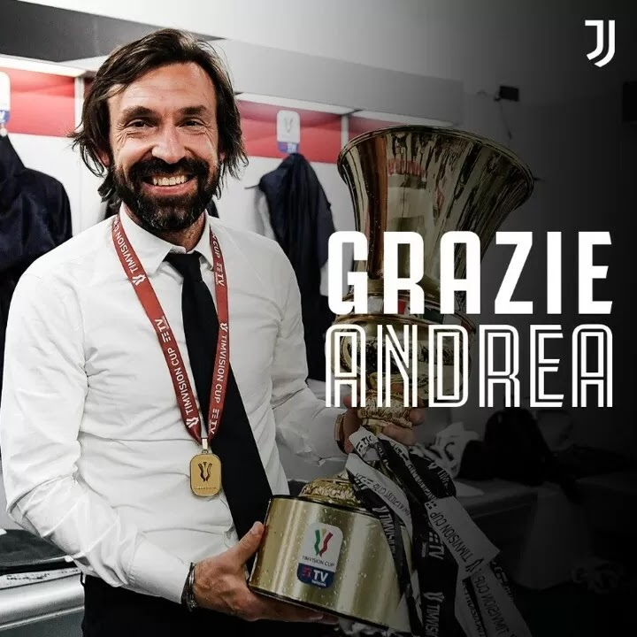 OFFICIAL: Andrea Pirlo has been sacked by Juventus