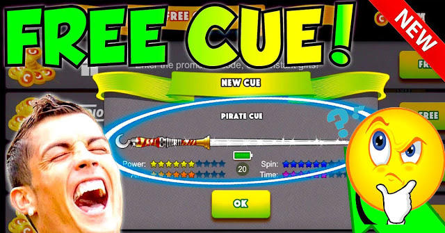 FREE CUE LINK!! Unlimited Free Cues No Hack Cheat 8 Ball Pool Giveaway