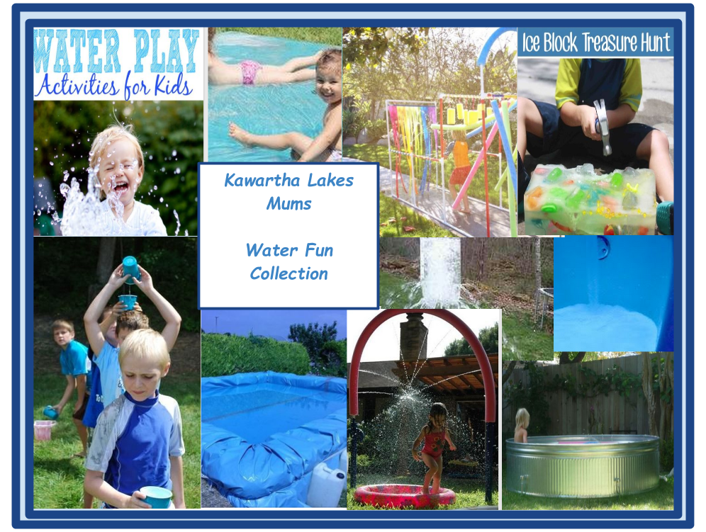Kawartha Lakes Mums Water Fun Ideas Collection from Pinterest