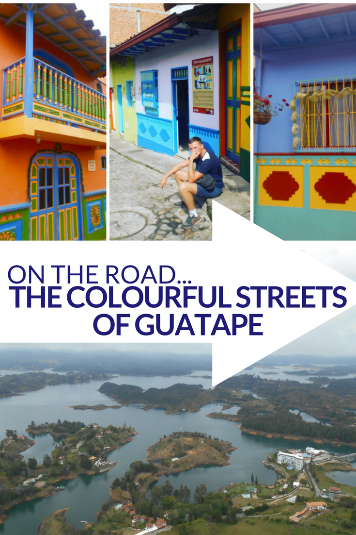 On the road... The colourful streets of Guatapè, Colombia - travelsandmore