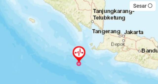 Pusat Guncangan Gempa 7,4 SR, Ada di Banten, BMKG Keluarkan Peringatan Tsunami