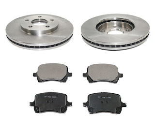 HHR Rotor and Brake Pads