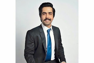 Hardy sandhu in business cut hairstyle and thick moustache