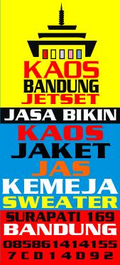 Alamat Konveksi kaos Murah Jalan Suci - Surapati 169 Bandung