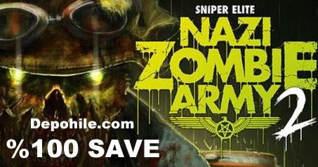 Sniper Elite Nazi Zombie Army 2 PC %100 Save Dosyası İndir