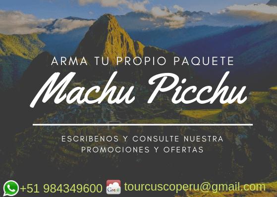 Reserva de Tours Machu Picchu