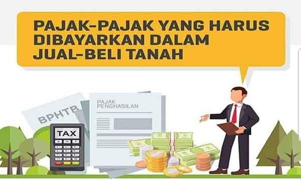 contoh cara menghitung pajak jual beli tanah untuk penjual dan pembeli