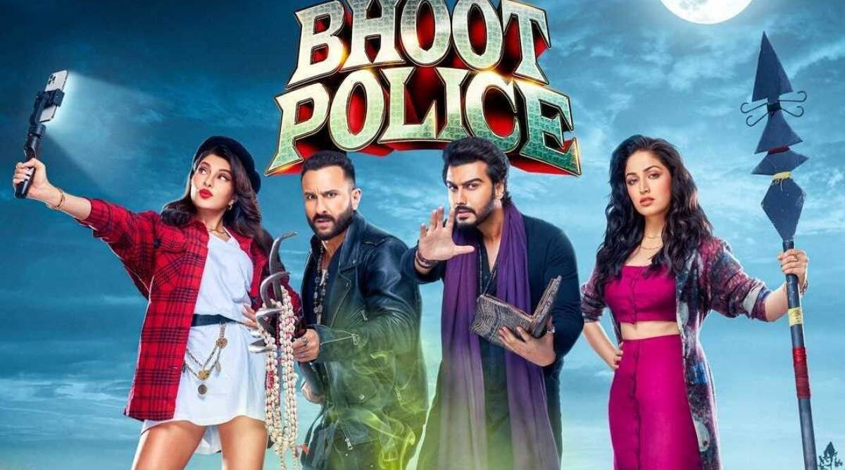 Poster film Bhoot Police