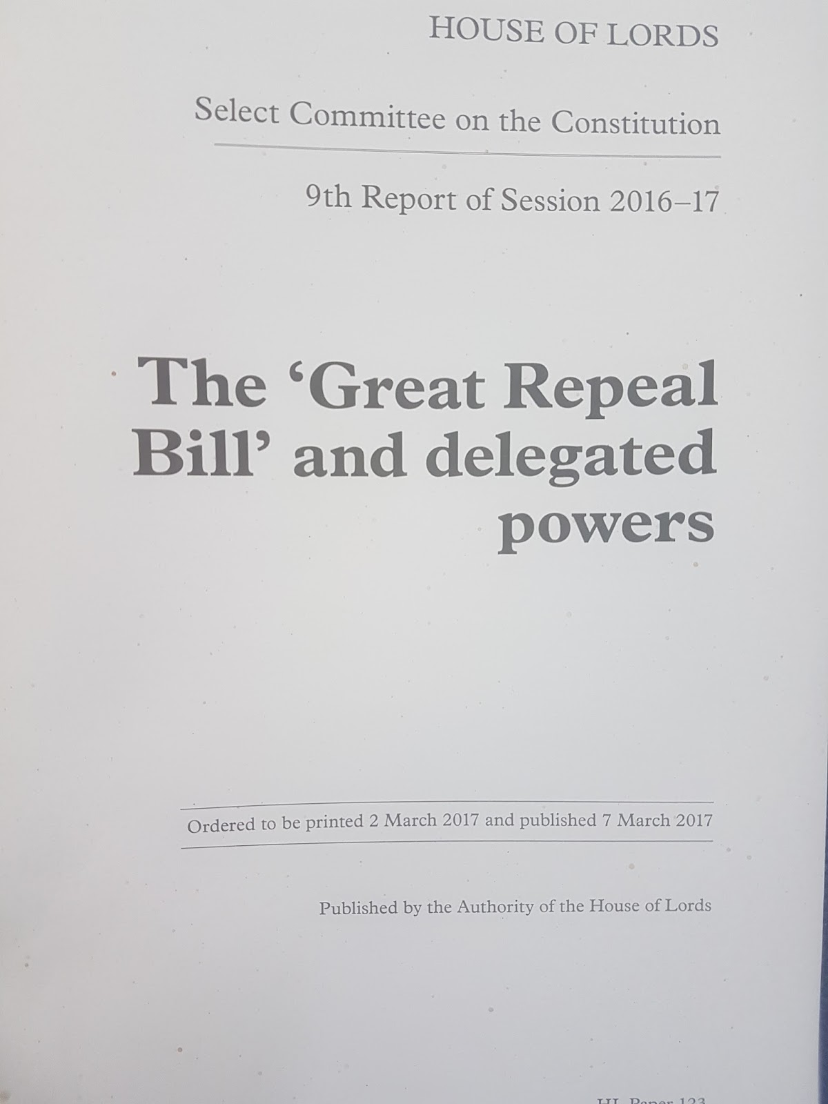 The great repeal bill white paper an executive power grab the government has released their white paper which outlines how they plan to deal with the masses of legislation which need to be amended now that brexit madrichimfo Images