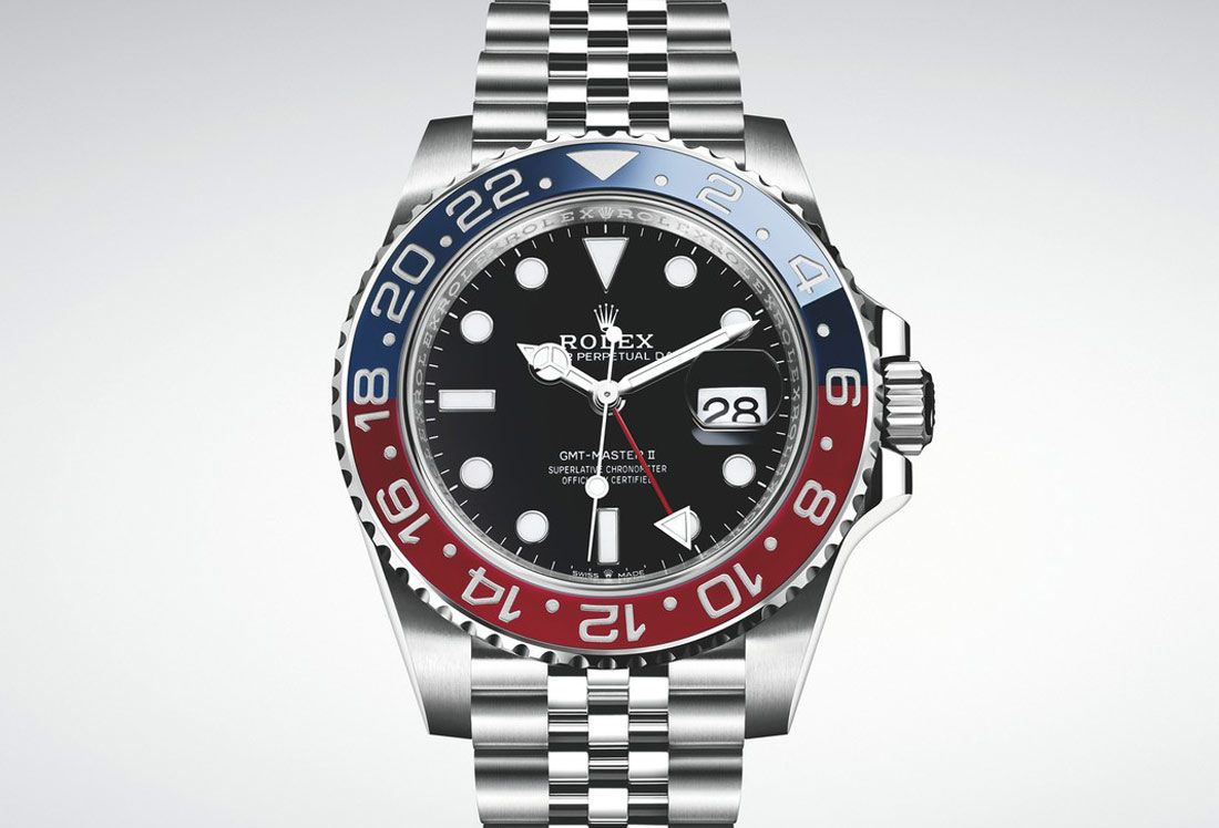 68dc6eb1037 Originally designed to aid airline pilots in their navigation, the GMT- Master has become an unmistakable icon. Over the years its emblematic bezel  has been ...