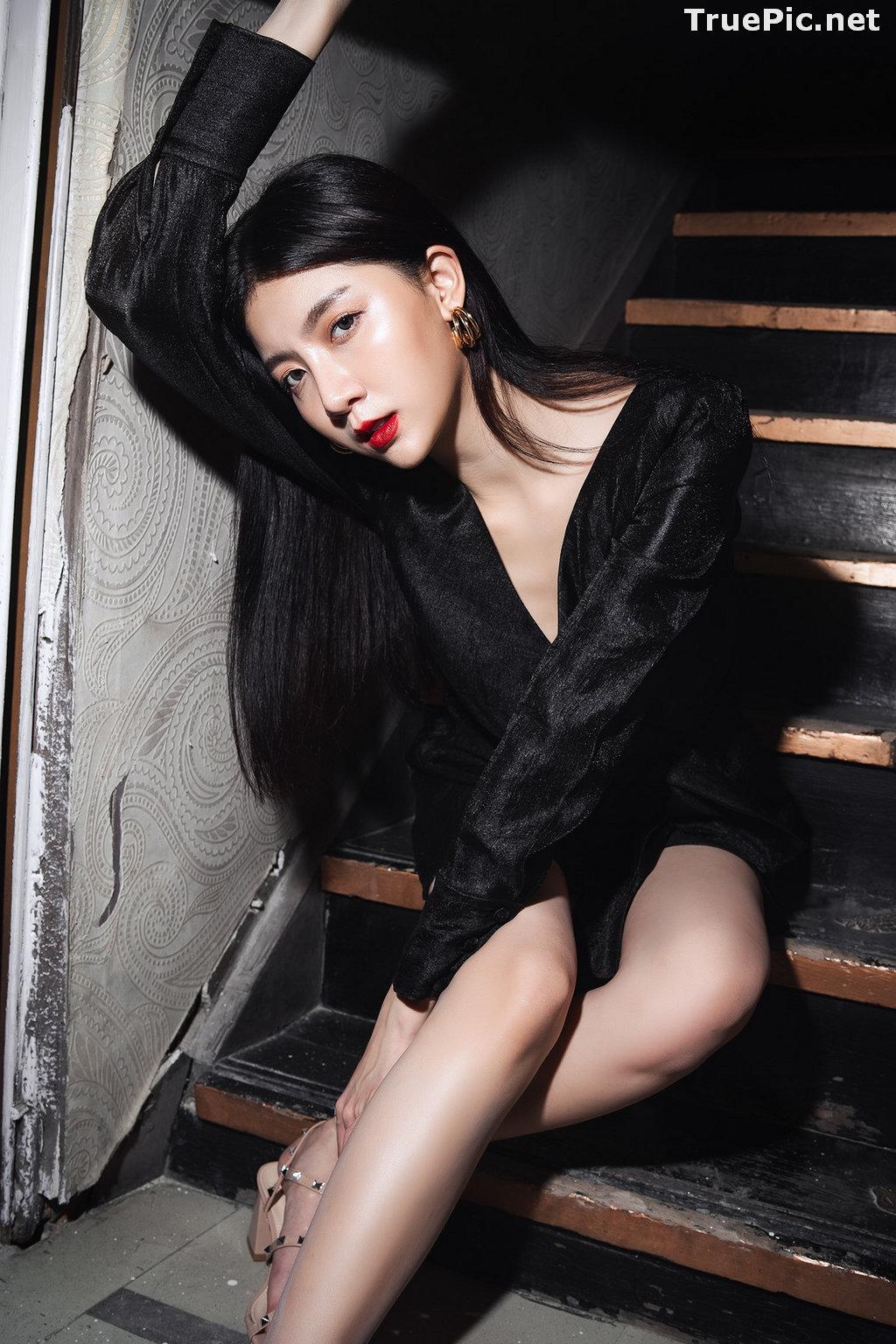 Image Thailand Model - Sasi Ngiunwan - Black For SiamNight - TruePic.net - Picture-18