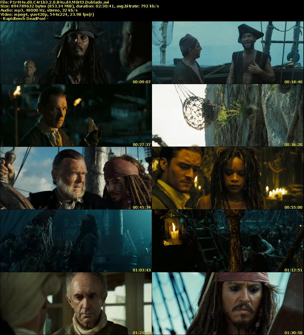 piratas do caribe o bau da morte avi