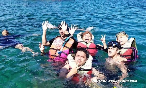 fasilitas selama wisata trip satu hari pulau pari
