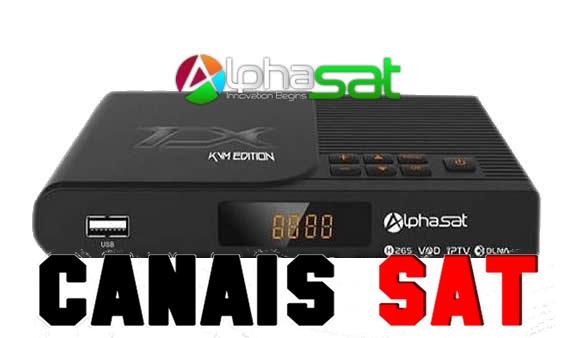 Alphasat TX Nova Atualização V11.09.06.S60 - 09/09/2019