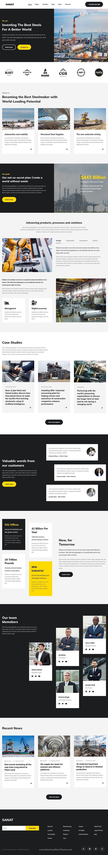 Industry Elementor HTML Template