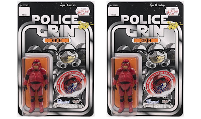 New York Comic Con 2020 Exclusive Police Grin Hip Hop Trooper Edition Resin Figure by Ron English x DKE Toys