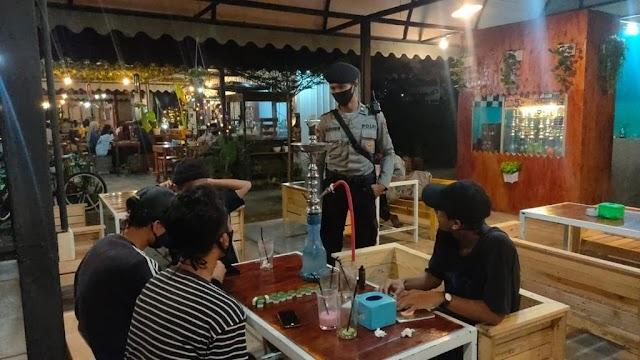 Ops Aman Nusa II Penanggulangan Covid-19 Seligi 2020 Kembali Melakukan Patroli Dialogis Di Wilayah Tiban Dan Sekitarnya Guna Mendukung New Normal Di Wilayah Kepri