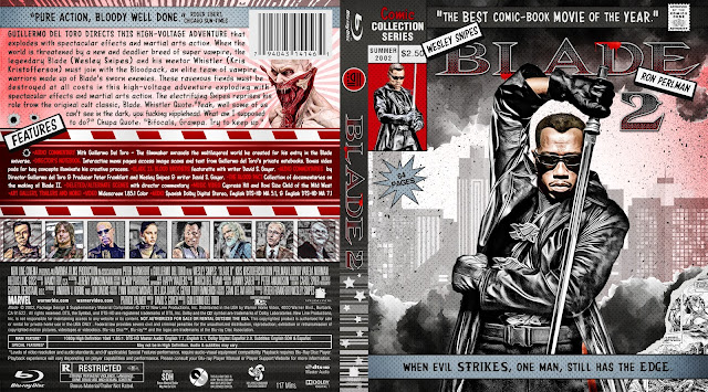 Blade 2 Bluray Cover