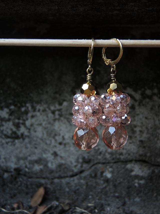 DIY oorbellen/earrings 'Praag'