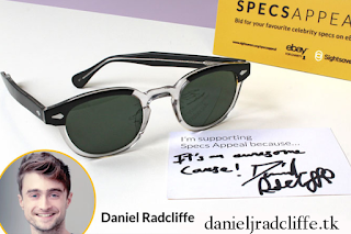 Updated(3): Daniel Radcliffe donates spectacles for Sightsavers' Specs Appeal auction