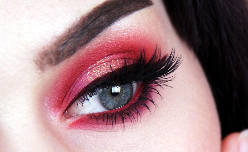 The10 Cutest Valentine's Day Eye Makeup Ideas