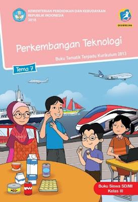 Kunci Jawaban Tematik Kelas 3 Tema 7 Perkembangan Teknologi www.simplenews.me