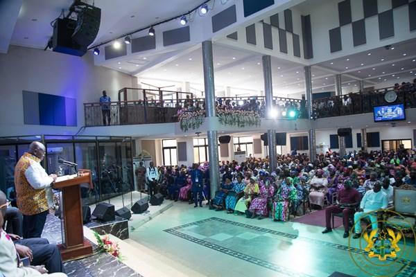 """Help Build A Progressive, Prosperous Ghana"" – President Akufo-Addo To Churches"