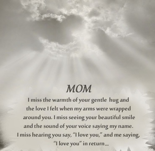 Missing My Mom In Heaven Quotes Glamorous Happy Mothers Day In Heaven Mom Images Quotes 2017 I Miss You Mom