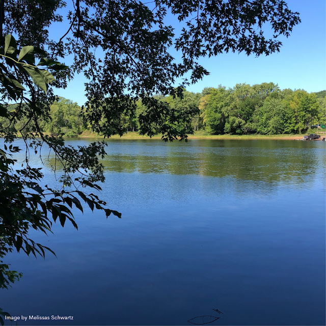 The St. Croix River added quiet tranquility to our meander in Osceola, Wisconsin.
