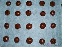 Bolas de masa de galletas