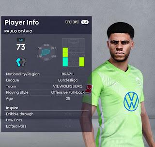 PES 2021 Faces Paulo Otavio