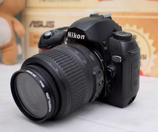 Jual Nikon D70 kamera DSLR Bekas