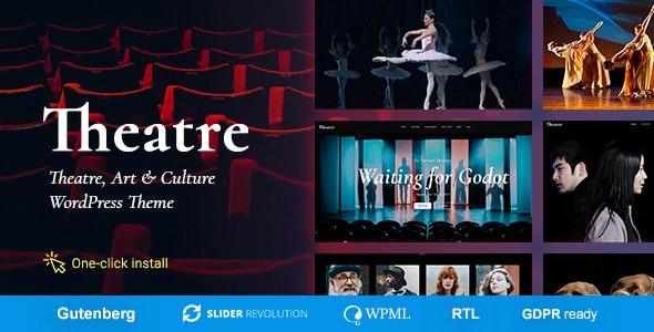 Download Theater v1.1.4 – Concert & Art Event Entertainment Theme