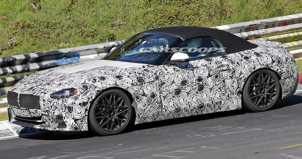 Bmw Z4 Concept Reportedly Headed To Pebble Beach