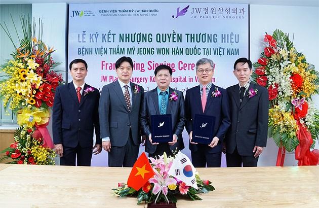 Bệnh viện thẩm mỹ JW Hàn Quốc- Bệnh viện chuẩn Hàn ISO 9001:2015