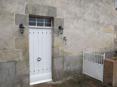 Porte d'entrée chêne, Original oak front door, DIY, renovations in france,