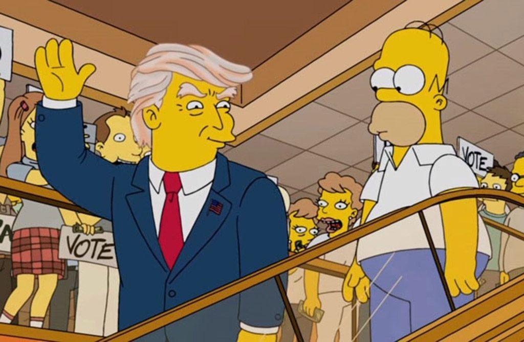 """Fox Channel cierra el año con una maratón de las """"predicciones"""" de Los Simpson"""
